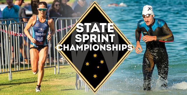 Sammut and Sheedy-Ryan Run Away Winners at State Sprint Championships
