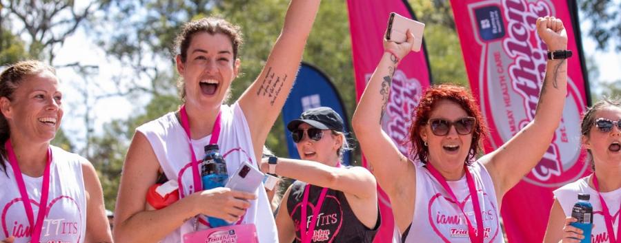 Ramsay Health Care Triathlon Pink