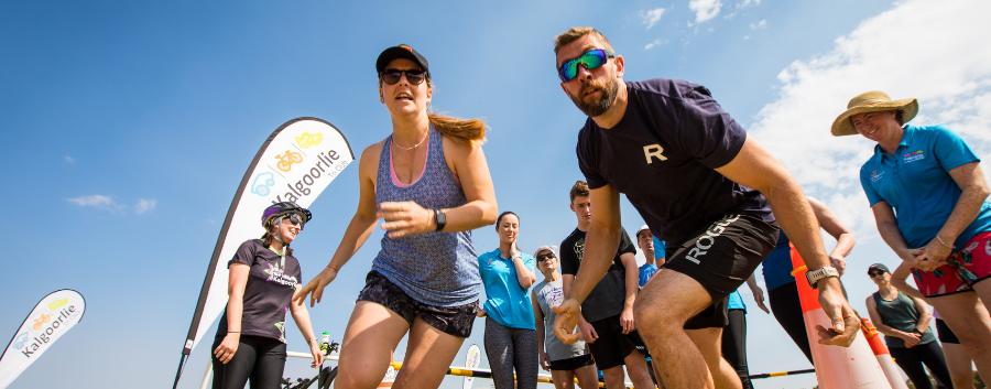 Kalgoorlie Corporate Triathlon